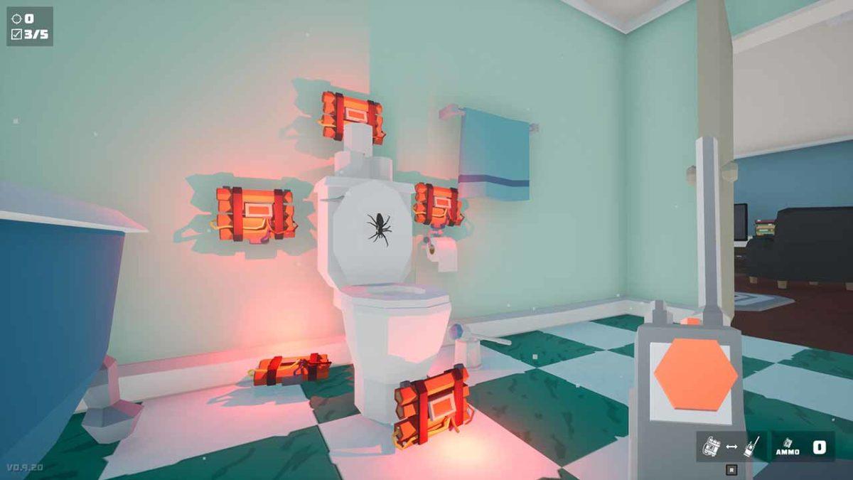 13 августа будет неудачный день для виртуальных пауков. Kill It With Fire выходит в Steam
