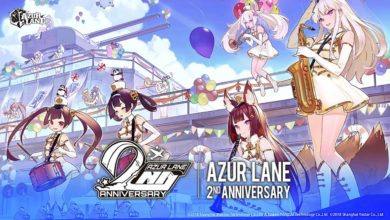 2D-шутер Azur Lane празднует свою 2-ю годовщину с тематической песней в исполнении Линдси Стирлинг
