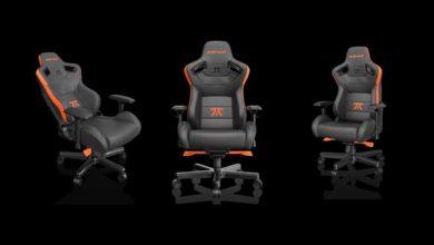 AndaSeat представил эргономичное игровое кресло Fnatic Edition