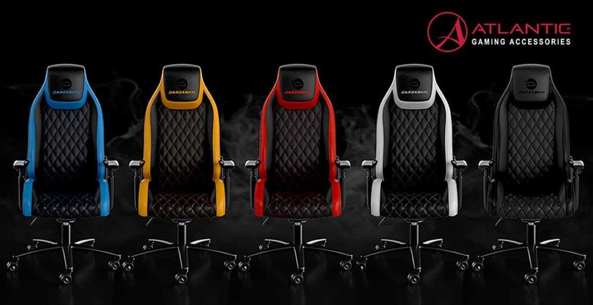 Atlantic выпустил новые игровые кресла Dardashti