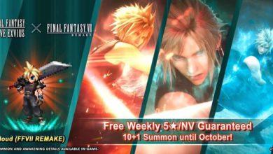 Final Fantasy: Brave Exvius открывает новую эру контента с Final Fantasy VII Remake