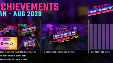 Photo of Synth Riders держит игроков в движении с помощью мощного музыкального набора «Cyberpunk Essentials»