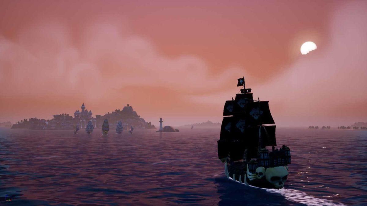 Вышел новый игровой трейлер для пиратской ролевой игры King of Seas