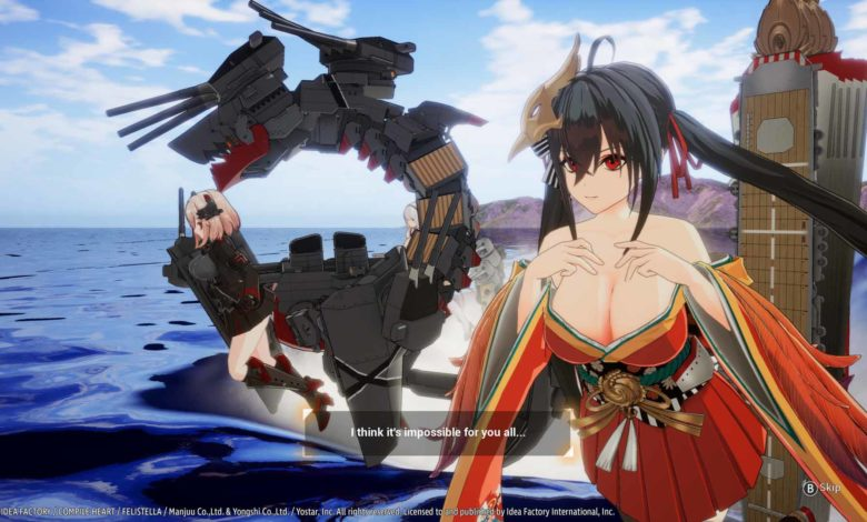 В Azur Lane: Crosswave добавляют еще пять персонажей