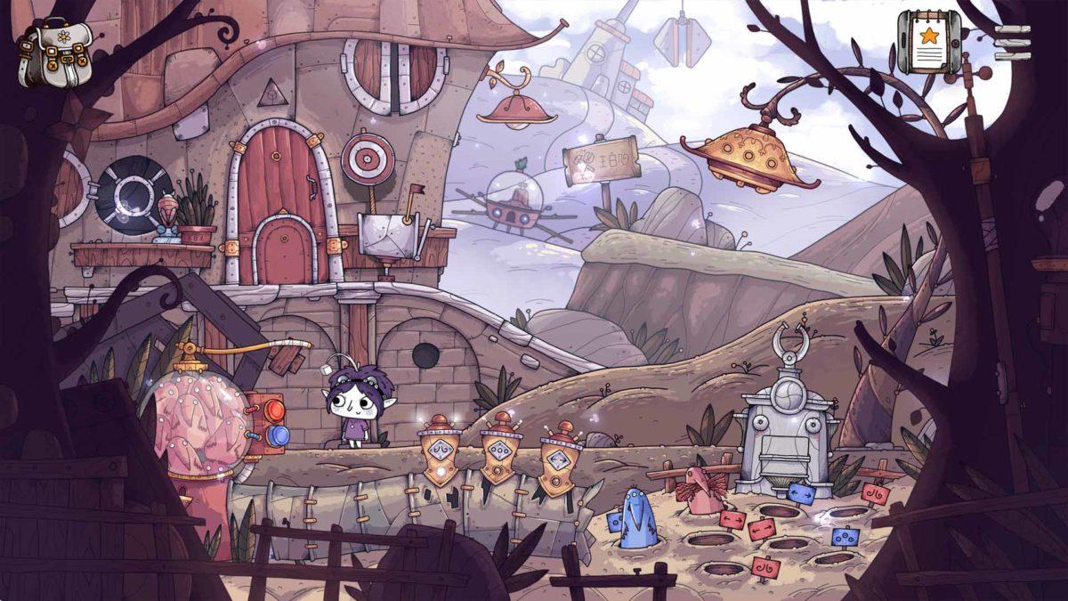 Очаровательная и великолепная приключенческая игра TOHU выйдет в конце года