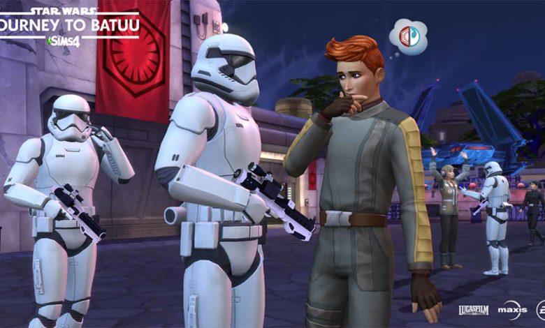 Погрузитесь в новый игровой процесс с «The Sims™ 4 STAR WARS™: Путешествие на Батуу»