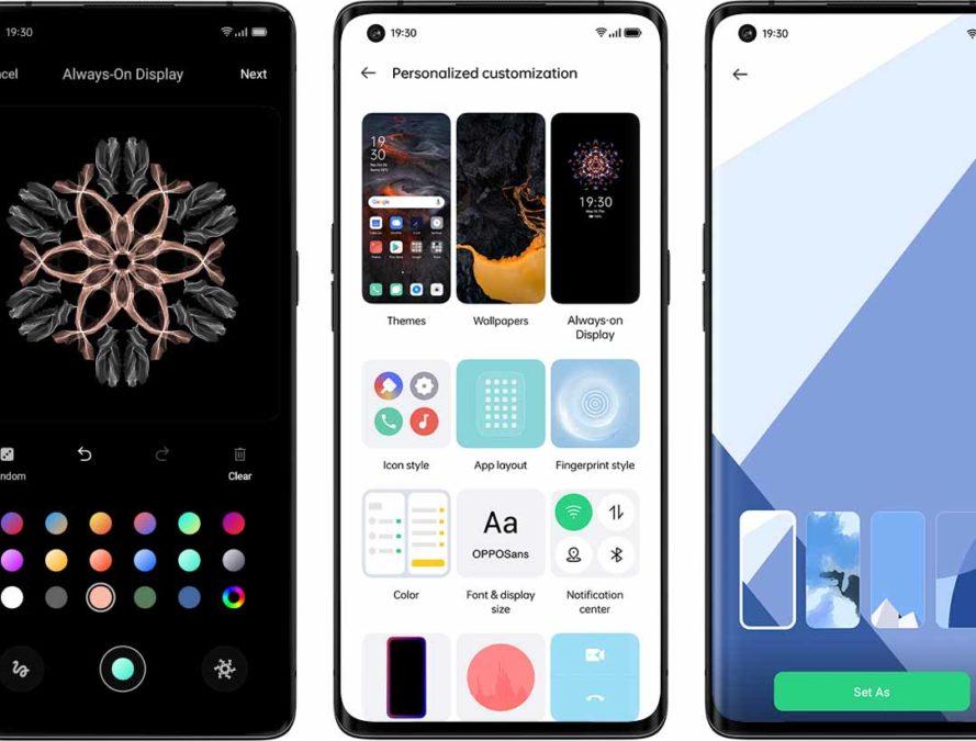 ColorOS 11 на базе Android 11