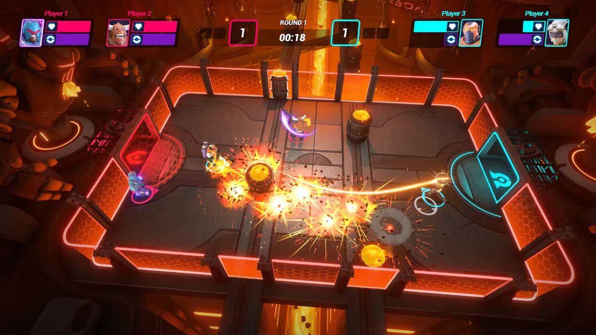 HyperBrawl Tournament имеет 7 игровых режимов
