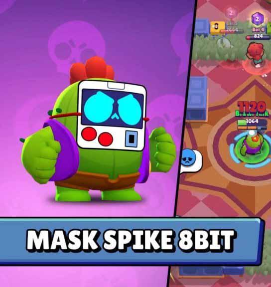 Маска Спайк 8-бит