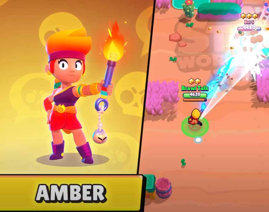 Амбер - новый легендарный боец