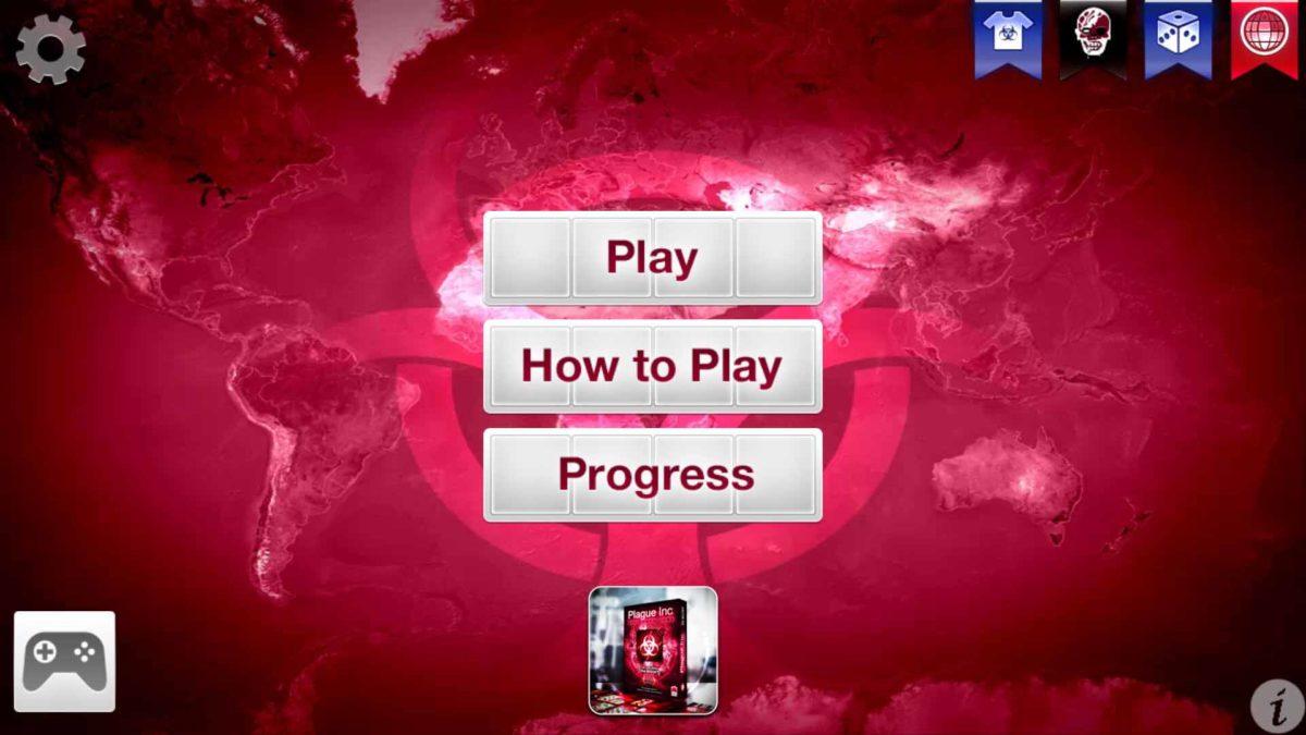 В главном меню нажмите кнопку Game Pad в нижнем левом углу экрана