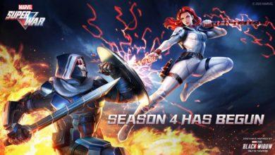 В MARVEL Super War начался 4й сезон: Черная вдова от Marvel Studios