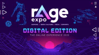 Забронируйте бесплатный билет на выставку видеоигр rAge Digital Edition