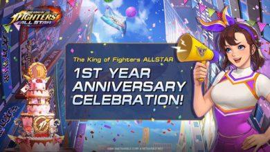 Мобильная экшн-ролевая игра The King of Fighters Allstar запускает первое юбилейное обновление