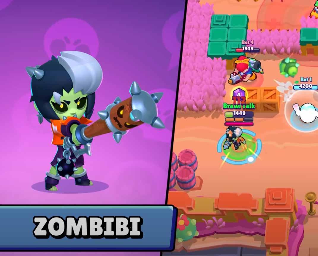 Новый скин Биби - Zombibi