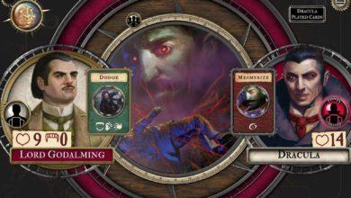 Fury of Dracula: Digital Edition выходит 29 октября в Steam