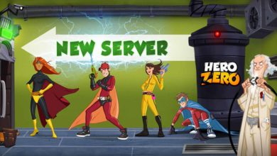 Hero Zero: Новый запуск сервера и жуткий сезон