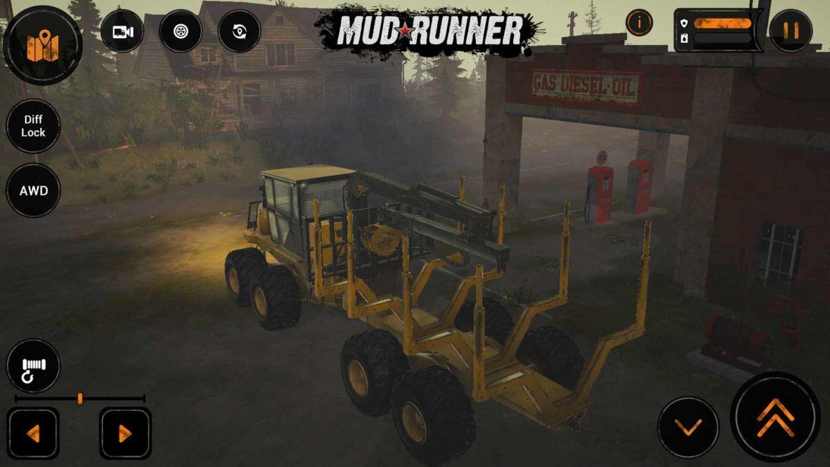 MudRunner Mobile: DLC American Wilds с двумя новыми американскими картами, миссиями и транспортными средствами