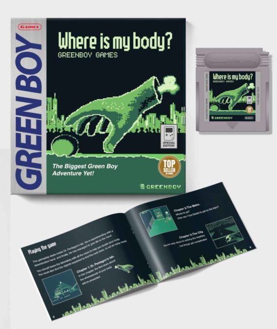 Where Is My Body? - Game Boy