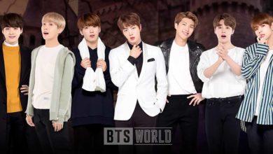 В ноябрьском обновление в BTS WORLD добавляется ужасная сказка об отдыхе Seok Jin (Чин) в отеле ужасов