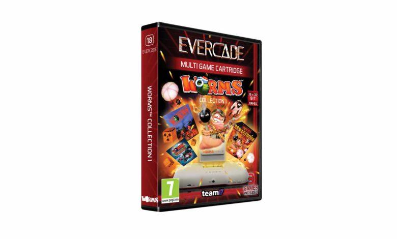 Коллекция Worms появится на Evercade в 2021 году