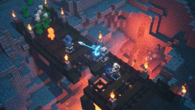 Видео. 38 минут игрового процесса Minecraft Dungeons