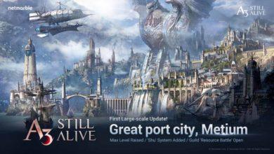 Портовый город Метиум открыл свои ворота для игроков A3: Still Alive