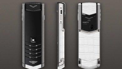 Эксклюзивный телефон Vertu Signature