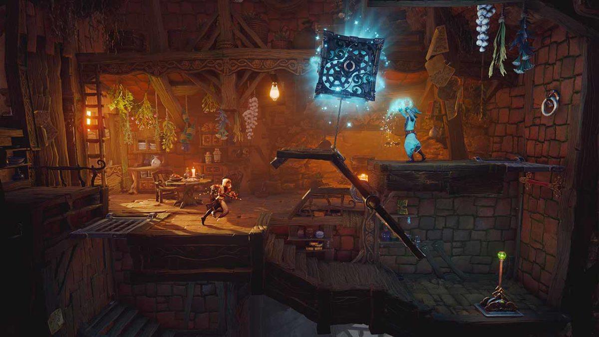 Видео. Trine 4: The Nightmare Prince – 44 минуты игрового процесса