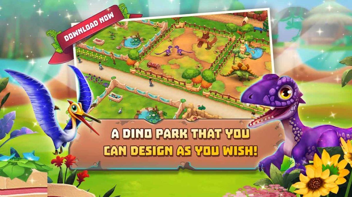Мечта сбылась: upjers объявляет о выпуске Dinosaur Park: Primeval Zoo