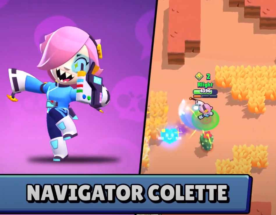 Навигатор Коллет