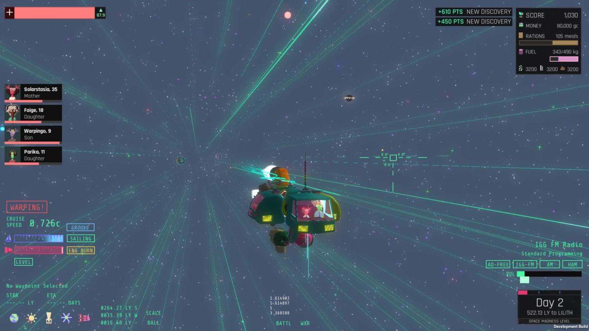 По-новому взглянуть на жанр космических приключений в Lilith Odyssey можно на ПК в Steam