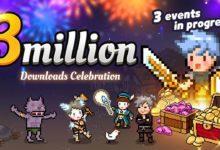 Празднование 3 миллиона загрузок в Evil Hunter Tycoon