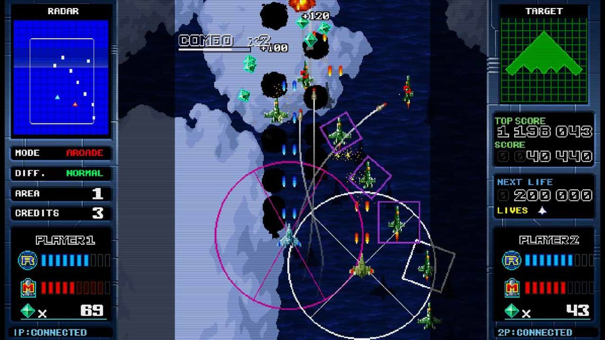 2D экшн-шутер Missile Dancer уже доступен для Nintendo Switch