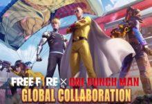 Free Fire предлагает игрокам дать волю своему внутреннему герою в последнем кроссовере с One-Punch Man