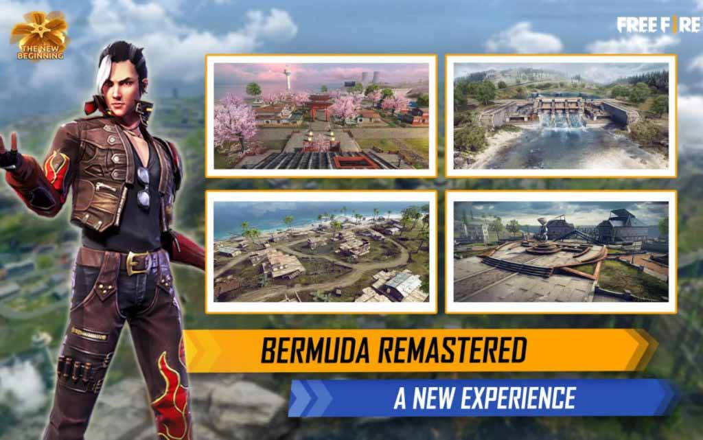 Free Fire стартует в 2021 году с долгожданного запуска Bermuda Remastered