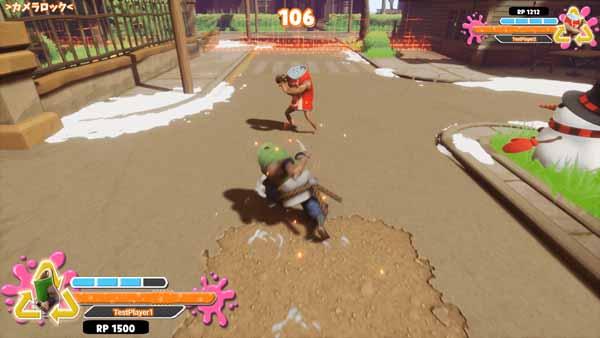 SUPER DRINK BROS. - В игру вступил седьмой новый боец, Такео Сасаки, самурай пронзающий ветер, и странник с бамбуковыми бутылками с водой