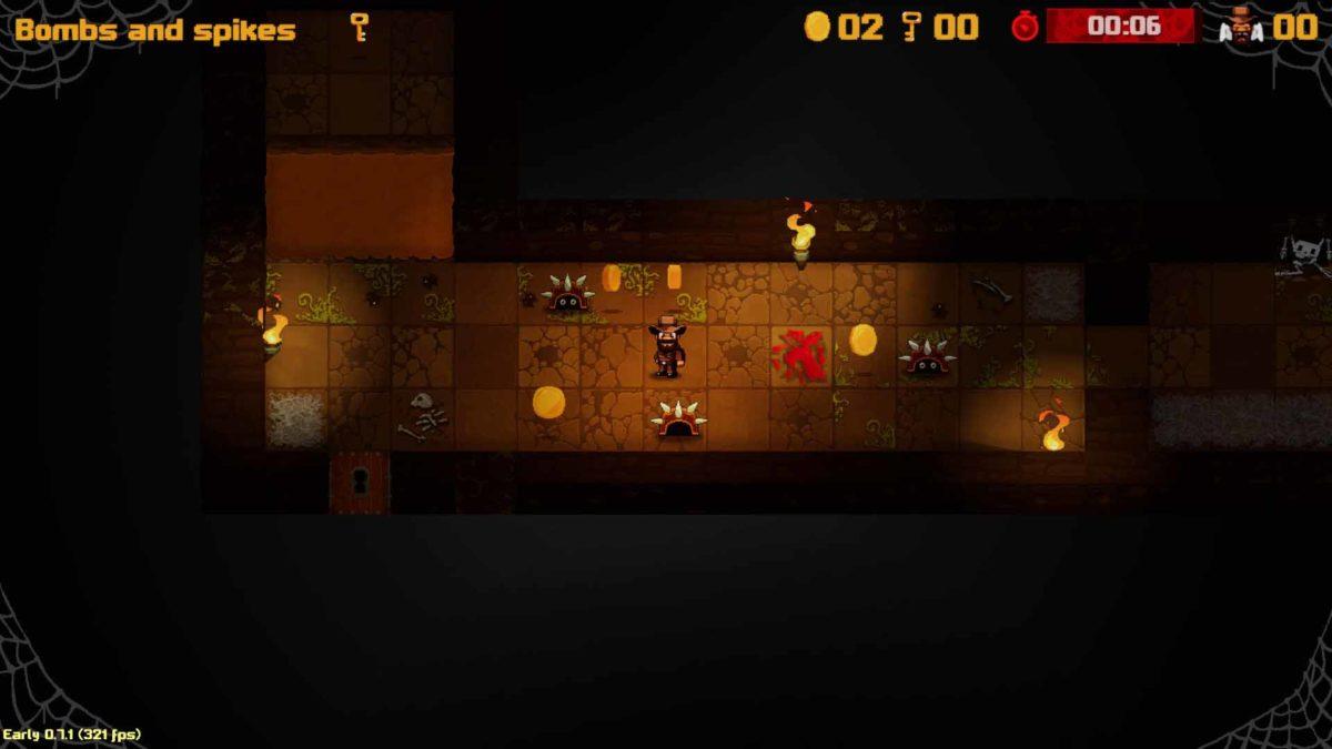 Shadebob Games выпускает Infinitrap: Rehamstered