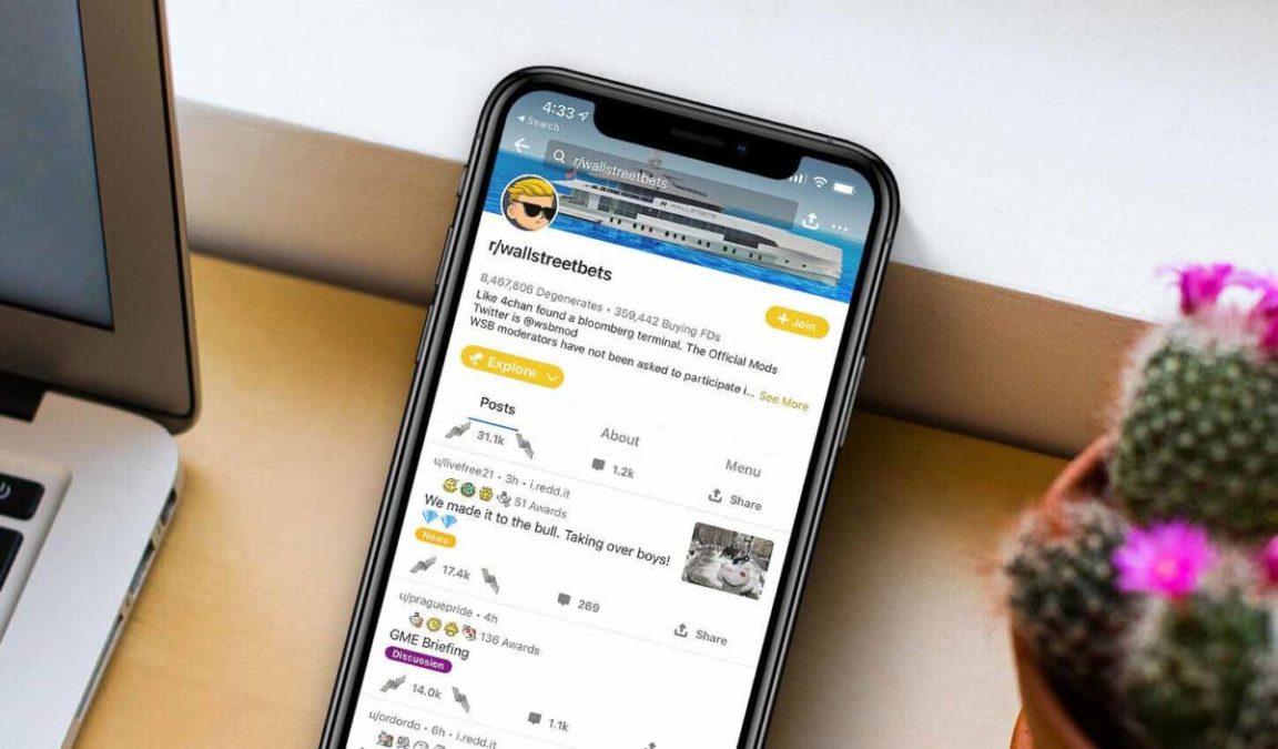 В январе мобильное приложение Reddit установило более 6 миллион человек