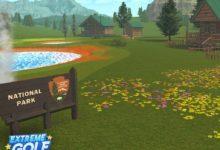 В Extreme Golf открылось новое тематическое поле национального парка