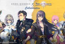 Exos Heroes объявляет о мероприятии по сотрудничеству персонажей с Tales of Vesperia