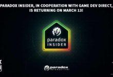 Paradox Insider возвращается 13 марта