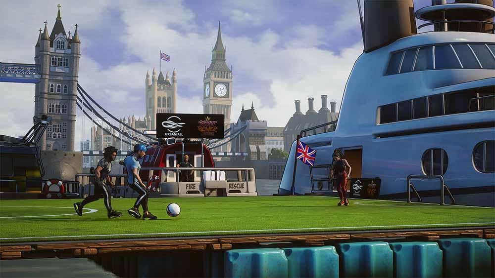 Street Power Football планируется запустить на Stadia