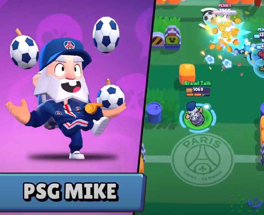 За 9 побед можно будет получить скин PSG MIKE