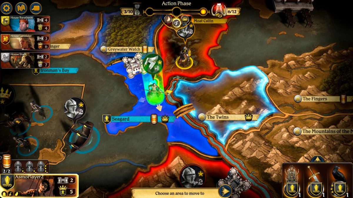 Зима пришла. A Game of Thrones: The Board Game - Digital Edition вышла на Android и iOS