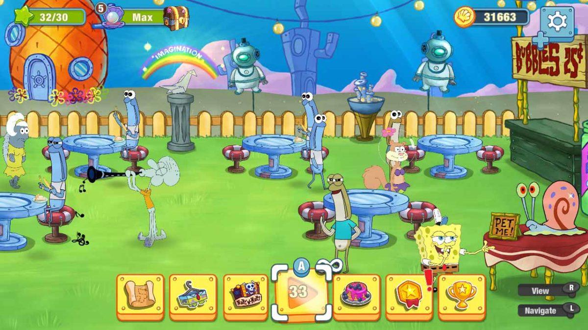 Испытайте веселое кулинарное приключение в SpongeBob: Krusty Cook-Off (Губка Боб: Кулинарный поединок) на Nintendo Switch