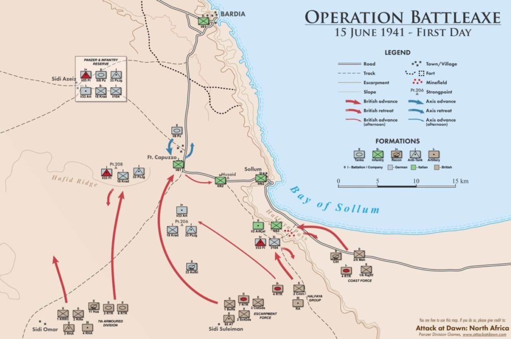 Attack at Dawn: North Africa - первое игровое видео