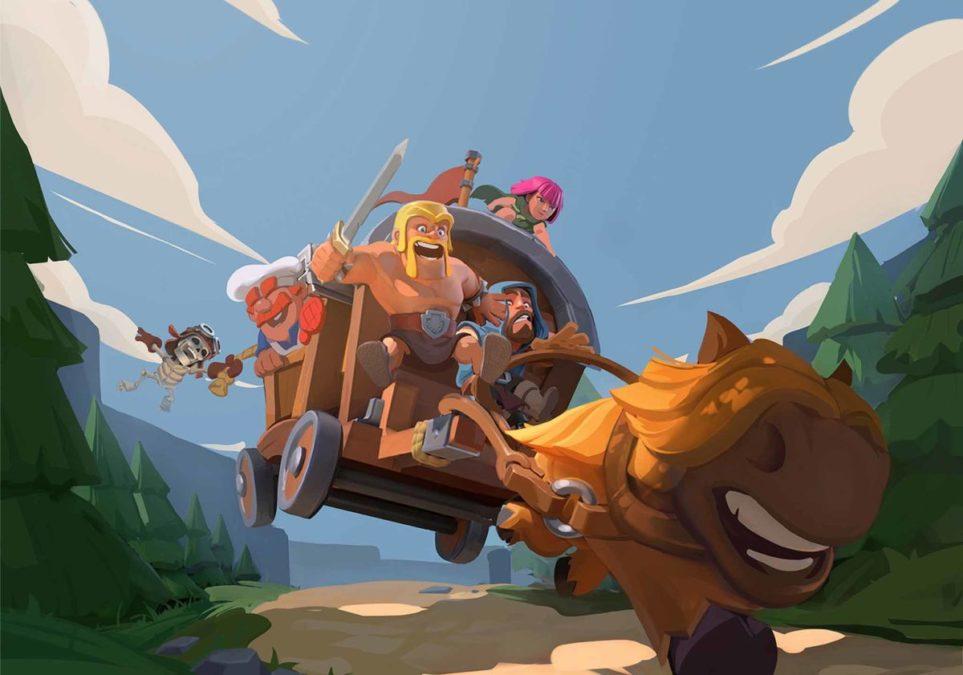 Clash Heroes - это игра, где вам нужно будет собирать команду из разных персонажей и путешествовать по миру Clash