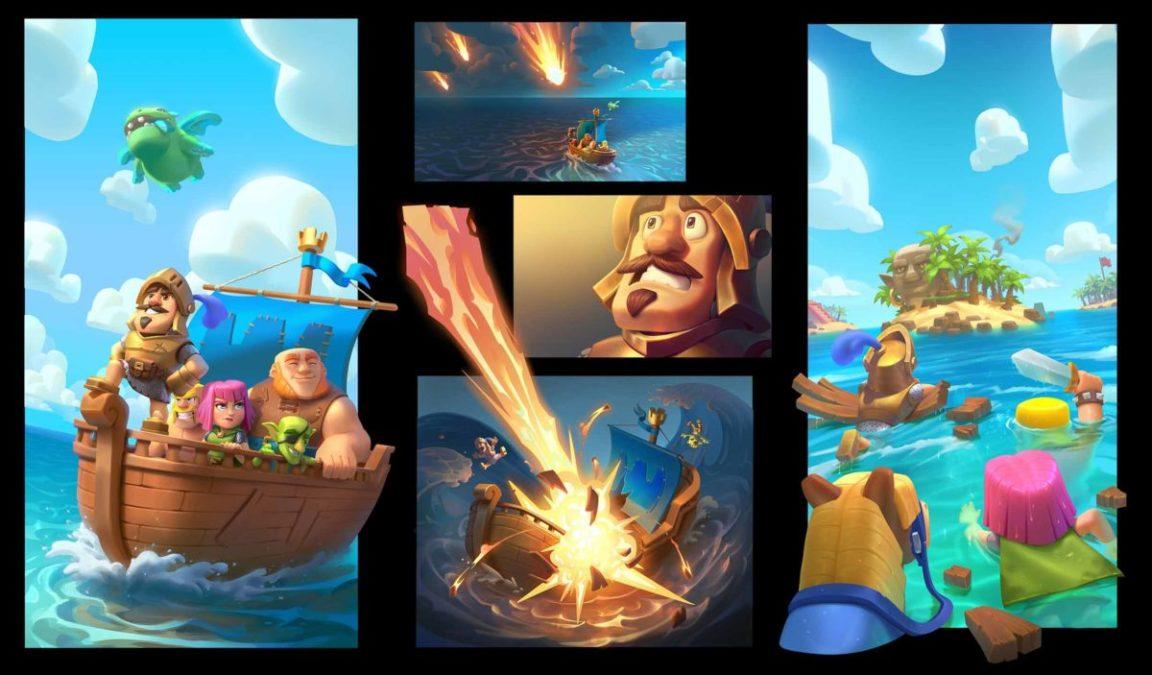 Clash Quest - это приключенческая пошаговая стратегическая игра с прыжками по островам