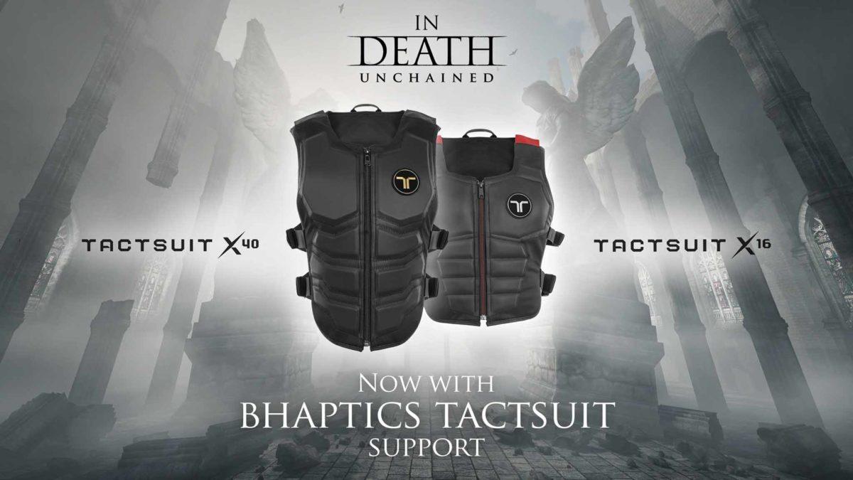 In Death: Unchained теперь поддерживает тактильный костюм от bHaptics